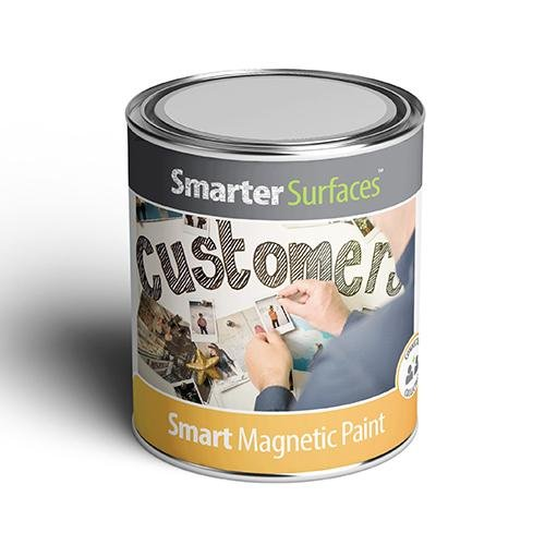 Product tin of Smart Magnetic Paint