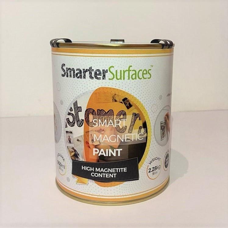 smart magnetic paint tin