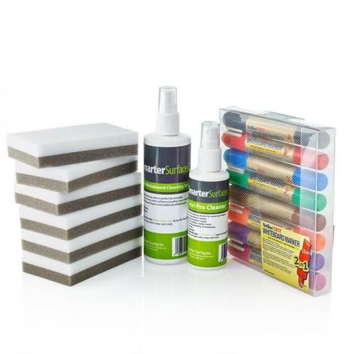smarter surfaces pro user kit including accessories for dry erase surfaces
