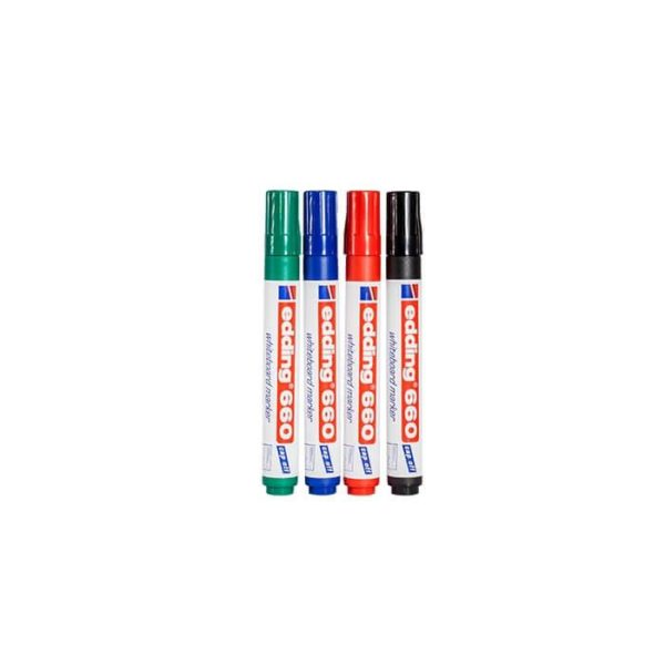 pack of edding dry erase markers