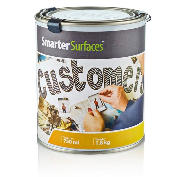 smart magnetic paint tin