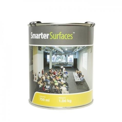 tin of smart projector paint