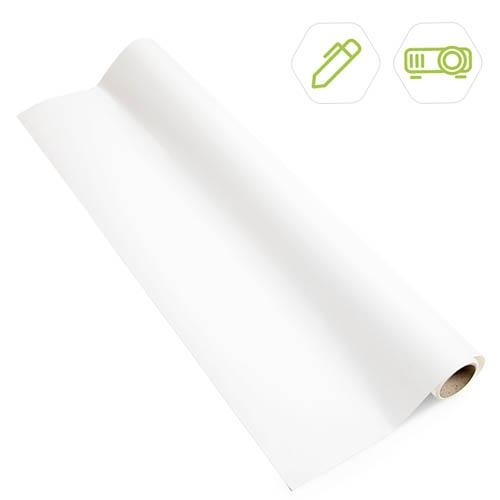 Smart Self Adhesive Whiteboard Film Low Sheen product close up