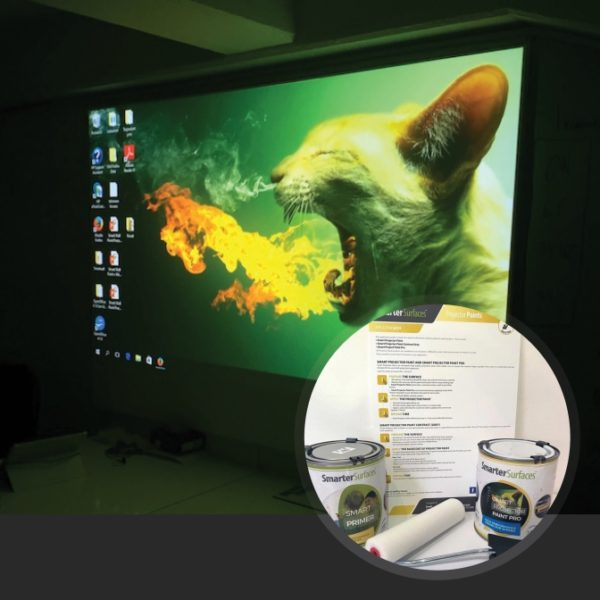 Smart-Projector-Paint-Pro-in-use-with-kit-on-display