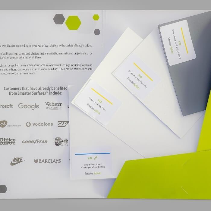 Projector Screen Solutions Sample Pack Contents
