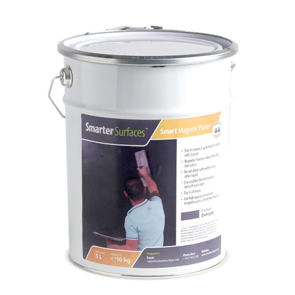 Magnetic Plaster Tin Smarter Surfaces