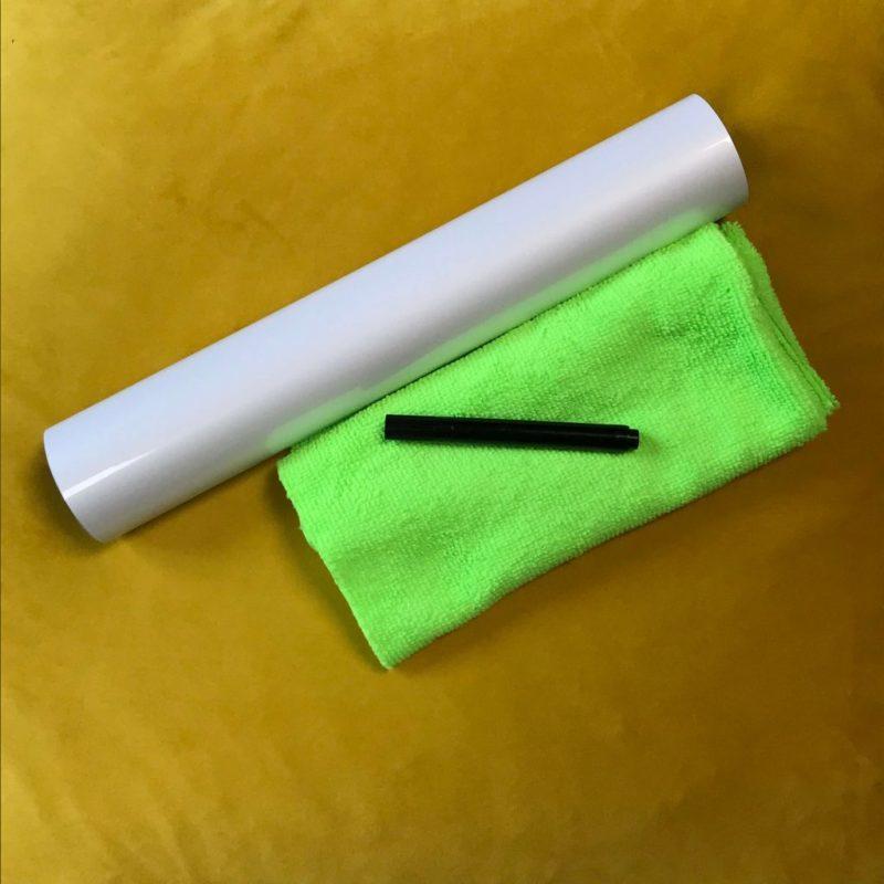 Smart self-adhesive whiteboard film large sample